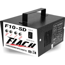 Carregador Baterias Automático Flach F10sd Amper Inteligente