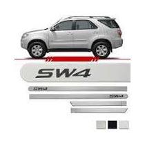Jogo Friso Lateral Toyota Hilux Sw4 Com 4 Peças