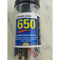 Cinta Plástica Abraçadeiraem 4 Tamanhos - 650 Unidades Color
