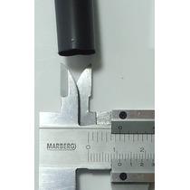 Espaguete Pvc 105ºc 11mm X 0,5mm Preto Vrm 511511