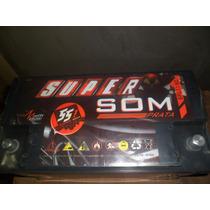 Baterias De Competição Super Som 115ah,eros Snake Ultravox