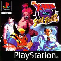 X-men Vs. Street Fighter - (psp - Ps1 -ps2) Frete Gratis