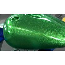 Flake Verde Para Pintura Automotiva 50 Gramas, ***promoção