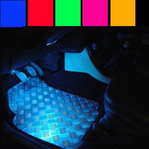 Barra 21cm Neon Led P/ Iluminar Tapete Pedaleira Moto Som