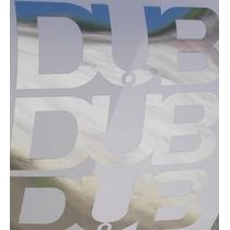 3 Adesivos Emblema Dub Várias Cores P Personalizar Seu Carro