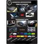 Adesivo Para Envelo Automotivo Black Piano Preto Brilho 1x1m