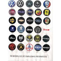 Emblemas Volante Esportivo,shutt.lenker,cougar,furios,type R