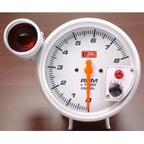 Auto Gauge Conta-giros 5 Pol. 127mm C/ Shift Light Para Linh