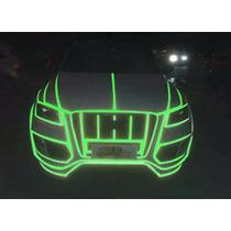 Fita Adesiva Fluorescente Verde Automotiva 5m