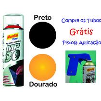 Película Envelopamento Líquido Mp30 Spray 500ml 300g Mundial