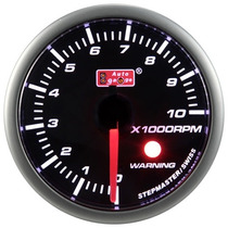 Auto Gauge Conta-giros 52mm Smoke 270º Scale Stepper Motor