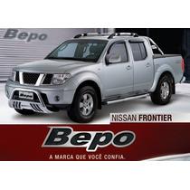 Nissan Frontier Sel - Parachoque De Impulsão Cromado Bepo