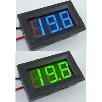 Frete Grátis Mini Voltimetro Digital Medidor Bateria Moldura