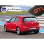 Soleira 4 Portas Golf Gti Carbono Personalizada
