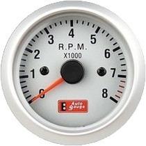 Auto Gauge Conta-giros 52mm Silver Series