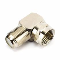 Cabbles Adaptador 90 Graus Form L Antena Cabo Coaxial Metal