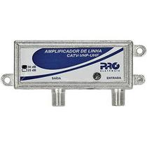 Mini Amplificador De Linha 30db Proal-3000 Proeletronic