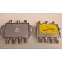 Chave Comutadora 3x4 Diseqc Diplexer Divisor Misturador Etc