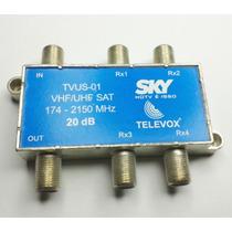 Acoplador Direcional Sdu Tap 20db Televox Sky