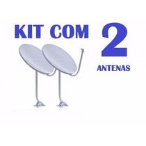 Kit 2 Antenas Banda Ku