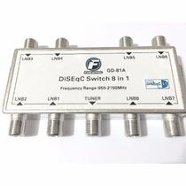 Chave Diseqc 8x1 Protocolo 1.1 (frete Gratis)