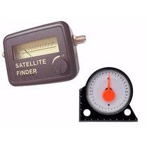 Localizador De Satélite Finder + Inclinômetro Base Magnética
