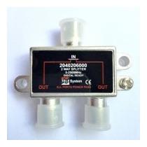 Divisor 1x2 Alta Frequência 5-2500mhz Tele System 2 Saídas