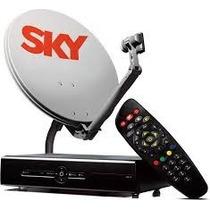Sky Livre - Antena + Codificador