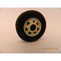 Rodas De Plastico 4cm Para Carreta Onibus Caminhao Carrinho