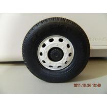 Rodas De Plastico 6cm Para Carreta Onibus Caminhao Carrinho