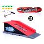 Kit Rampa Skate De Dedo Skatepark - Dm Toys
