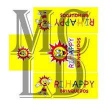 Ri Happy 1:64 - Hiway Hauler - Decal P Miniatura Diecast Mc