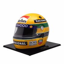 Réplica Do Capacete Ayrton Senna 1:1 - Última Temporada Na M