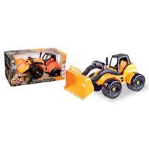 Trator De Brinquedo Construction Carregadeira - Promoção