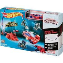 Pista Homem Aranha Básica - Hotwheels - Mattel