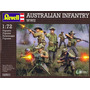 Modelo Soldiers - Revell Australiano Wwii Infantaria 1:72 Es