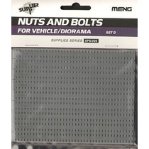 Kit Modelo - Porcas E Parafusos Set D 1:35 Meng Plástico