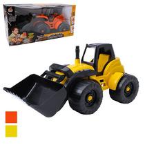 Trator De Brinquedo Carregadeira Construção Frete Grátis