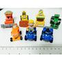 Coleção De 7 Carrinhos Em Miniatura - Bob O Construtor