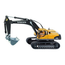 Toy Digger - Siku Volvo Escavadeira Hidráulica 1:50 Miniatu