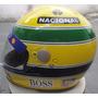 Capacete Ayrton Senna Réplica