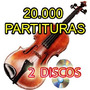 A Biblioteca Do Violino 20000 Partituras 2 Discos