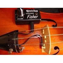 Captador Para Violino E Viola De Arco - Black Bug Bbf
