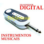 Transmissor Sem Fio Guitarra Violão Teclado Retorno De Palco
