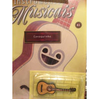 Miniatura Cavaquinho Instrumentos Musicais Salvat Nº 61