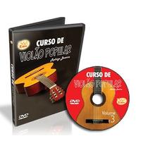Curso Video Aula Violão Popular Vol. 3