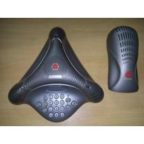 Aparelho Audioconferência Polycom Voicestation 100 Com Fonte