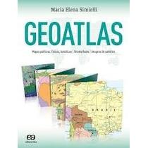 Livro Geoatlas====edição 2013===novo Editora Atica Maria Ele
