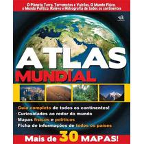 Atlas Mundial - Mais De 30 Mapas - Promoção Especial