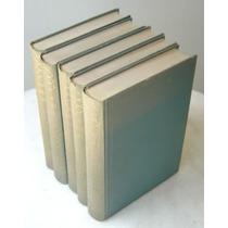 Historia Del Mundo J. Pijoan 5 Volumes Capa Dura Livro